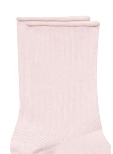 Mavi  Soket Çorap Pembe